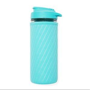 Masontops Glass Water Bottle with Neoprene